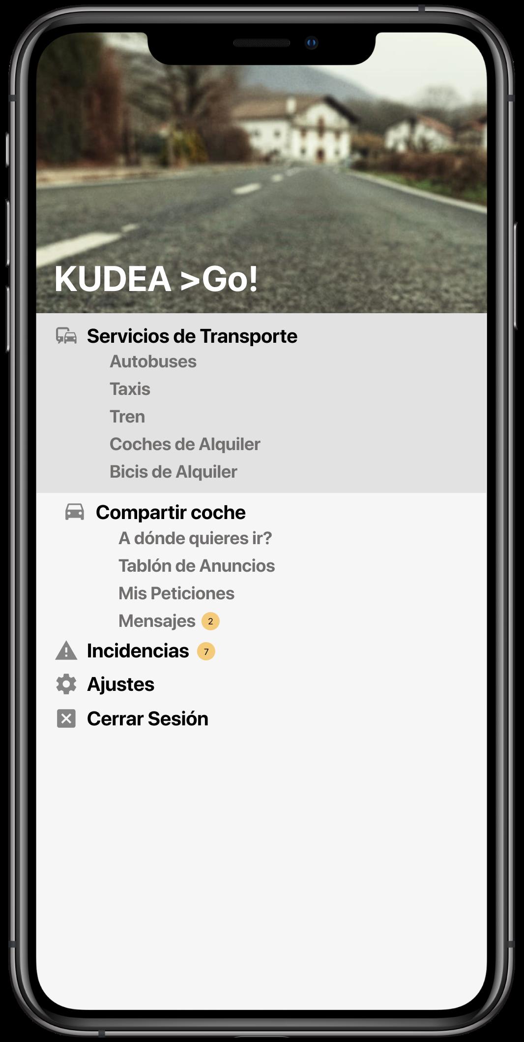 Movilidad positiva para el medio rural con Kudea >Go!